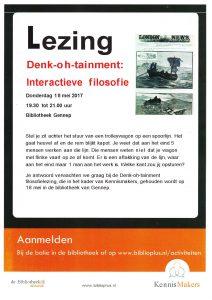 Cursus en Training Noord-Limburg, Venray, Overloon, Horst, Boxmeer, filosofie, Volksuniversiteit Venray, lezing